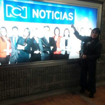 De visita a RCN televisión y LAUD radio