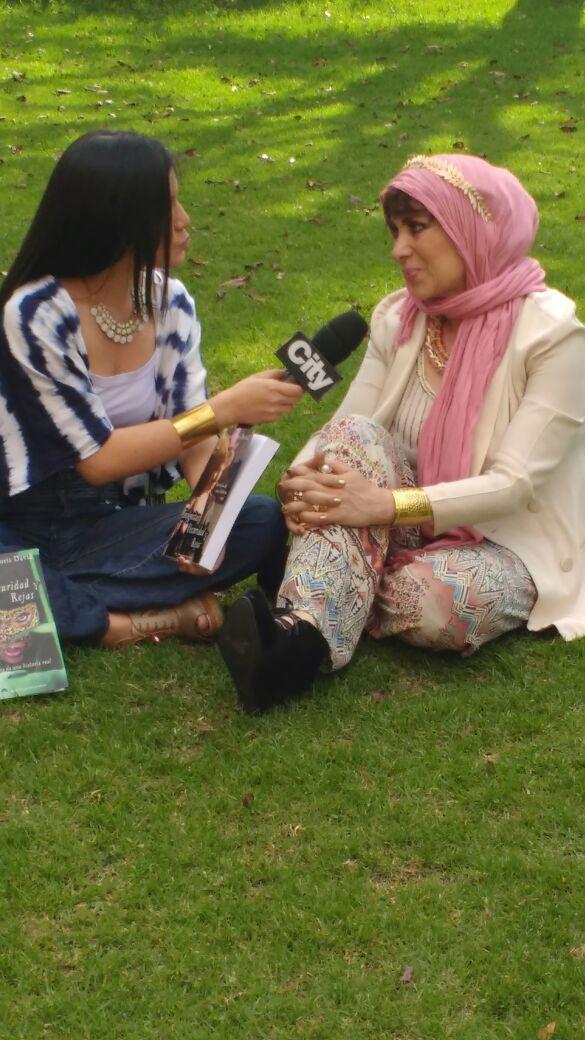 Doris David habla de su libro en City noticias
