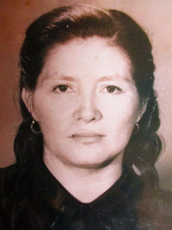 María  Trinidad  Quintero  Vega madre de Doris David