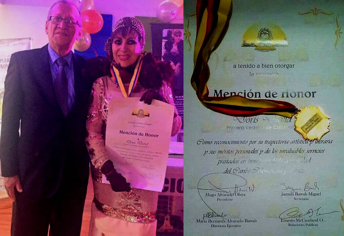 Mención de Honor a Doris David