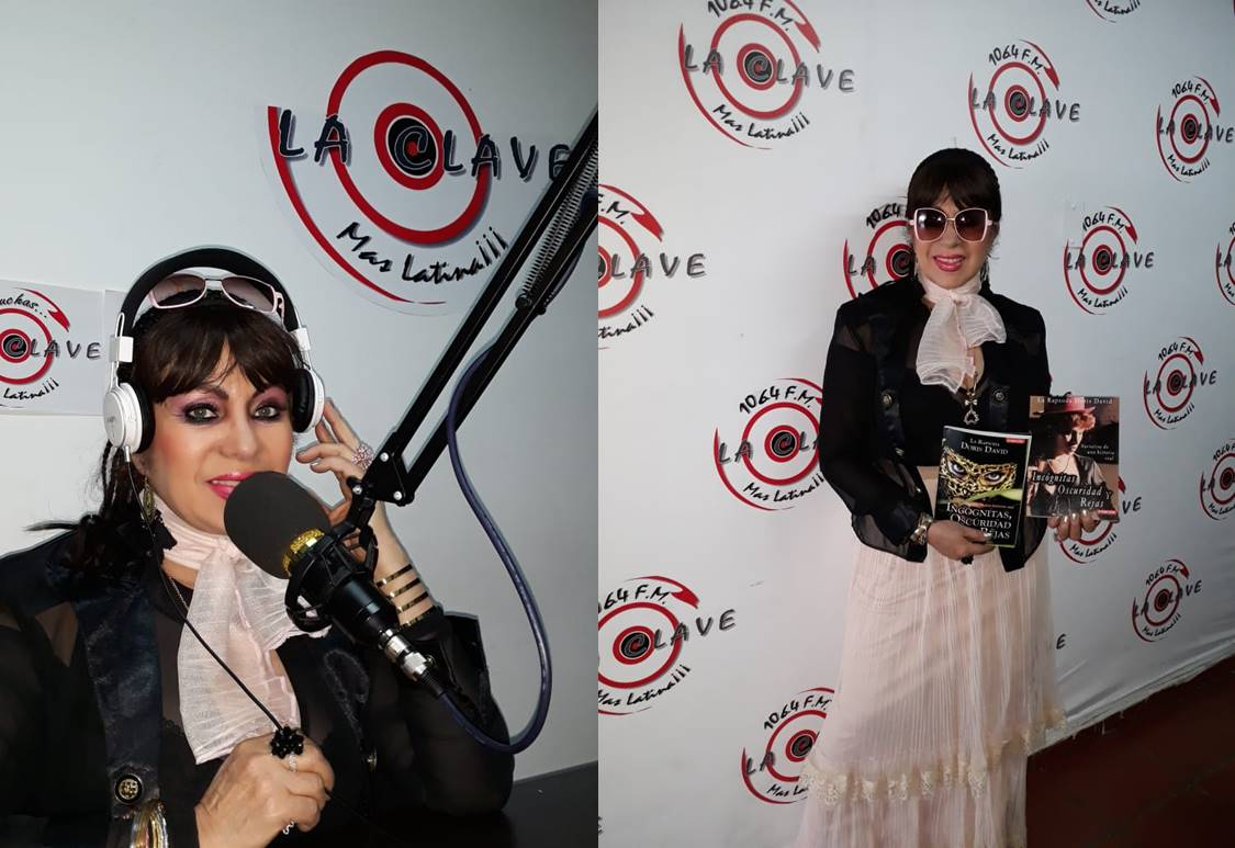 Doris David en emisora La Clave