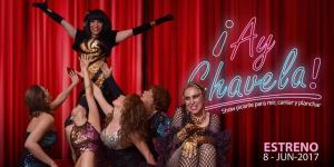 """Doris David triunfa en """"AY CHAVELA"""" Teatro BUEN VIAJE"""